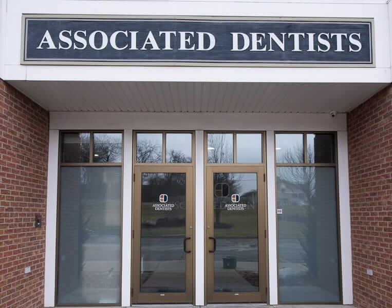 Associated Dentists Verona Office Entrance Door